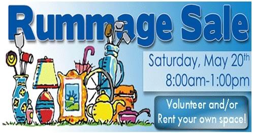 Rummage Sale: May 20, 2017 - Grace Avenue United Methodist Church