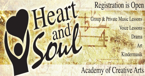 Heart and Soul Creative Arts Academy registration