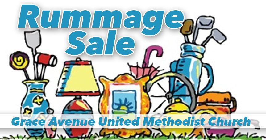 2019 Rummage Sale - Grace Avenue United Methodist Church