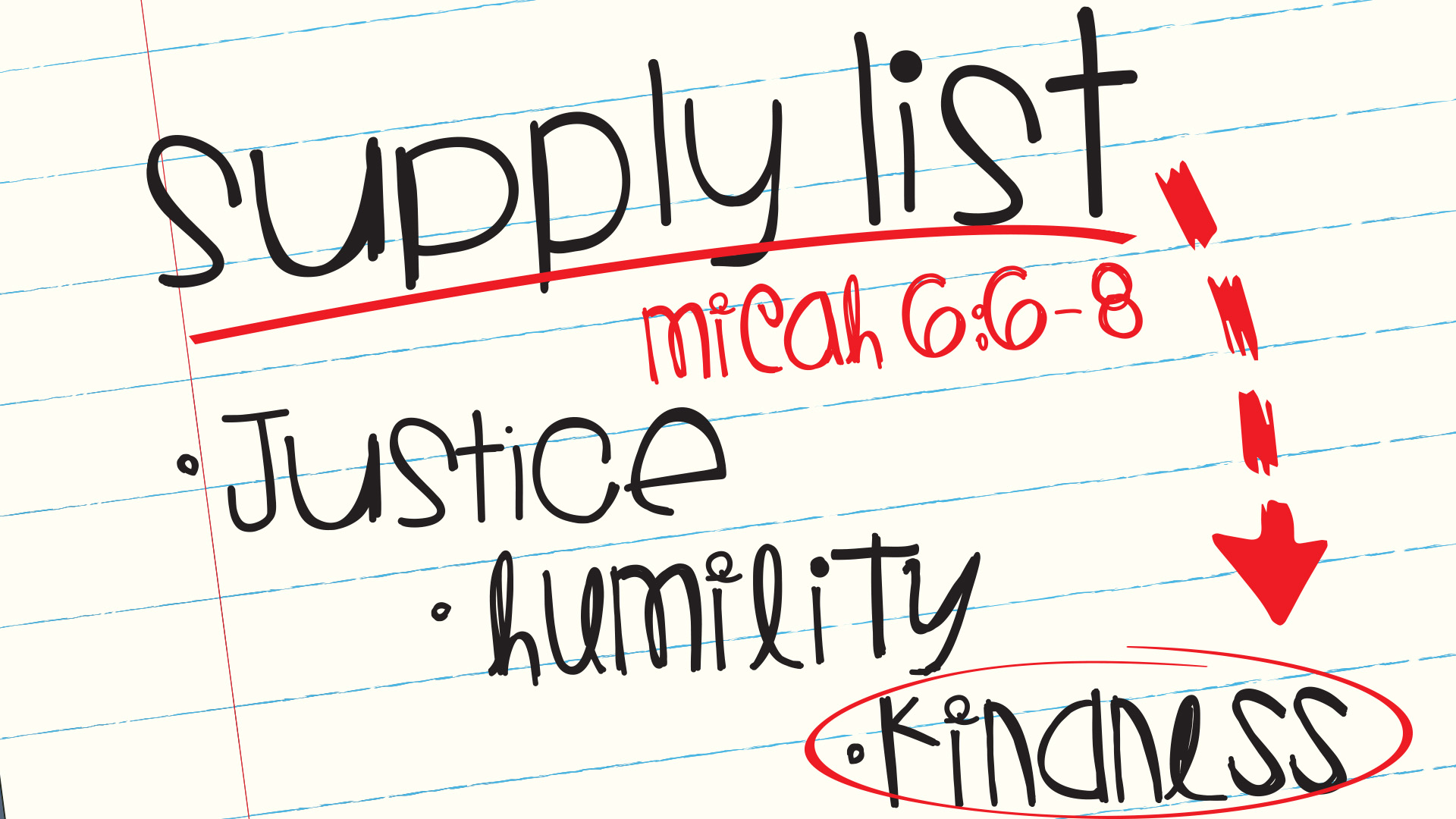 supplyList_kindness_Sanctuary